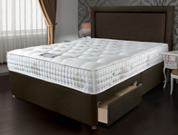 Sleepeezee Bordeaux 2000 Pocket Divan Bed