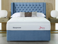 Sleepeezee Jessica Plush 2200 Pocket Sprung & Staycool Gel Divan Bed
