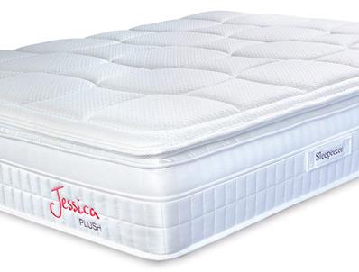 Sleepeezee Jessica Plush 2200 Pocket Sprung & Staycool Gel Mattress