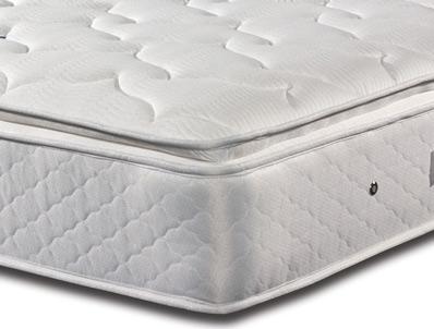 Sleepeezee memory comfort 1000 pillow top pocket divan bed for Best value divan beds