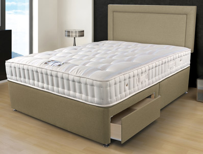 Sleepeezee Naturelle 1400 Pocket Bed