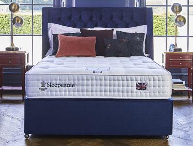 Sleepeezee westminster 3000 pocket divan bed buy online for Best divan beds uk