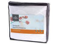 SleepSoft Poly Cotton Mattress Protector
