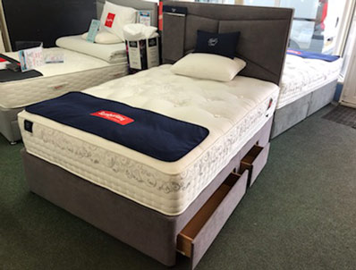 Slumberland Double Size Silver  seal Ex Display Floor Model To Clear
