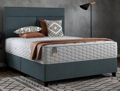 Slumberland Memory Plus 1800 Pocket Divan Bed