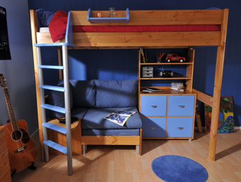 Stompa Casa 5 High Sleeper