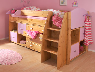 Stompa Rondo 3 Cabin Bed