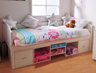 Stompa Solo 2 Low Storage Bed Frame