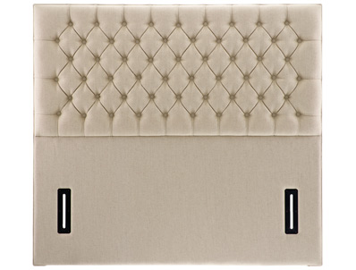 Swanglen Tiffany Buttoned Floor Standing Headboard