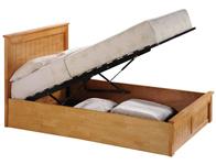 Sweet Dream Suez Chandler End Lift Wooden Ottoman Bed Frame