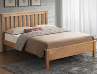 Sweet Dreams Bourne Oak Effect Bed Frame