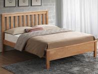 Sweet Dreams Bourne Oak Effect Bed Frame