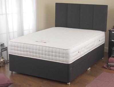 Sweet dreams breydon 2000 pocket memory divan bed buy for Best divan beds uk