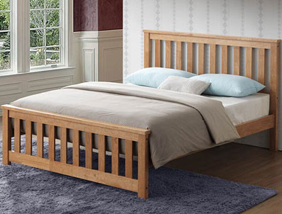 Sweet Dreams Calvin/Gibson Oak Effect Bed Frame