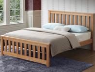 Sweet Dreams Calvin Oak Effect Bed Frame