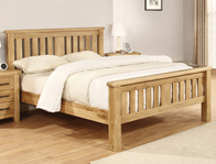 Sweet Dreams Carlton Solid Oak Bed Frame