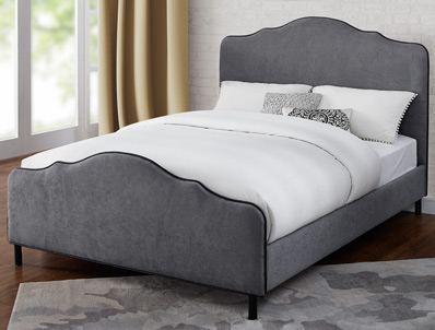 Sweet Dreams Carter/Monroe Fabric Bed Frame