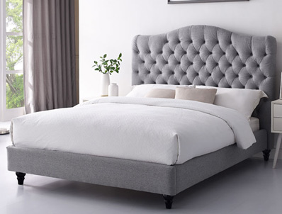 Sweet Dreams Cole Fabric Bed Frame