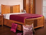 Sweet Dreams Curlew Storage Pine Frame