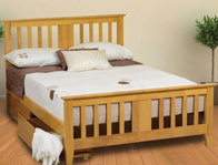 Sweet Dreams Gere Wooden Bed Frame Clearance