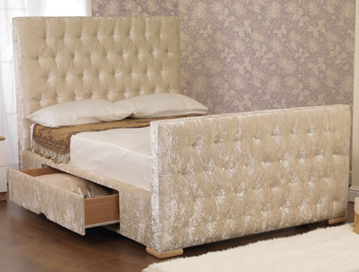 Sweet Dreams Idol  Fabric Bed Frame