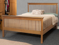 Sweet Dreams Jacob Oak Bed Frame