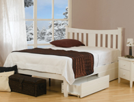 Sweet Dreams Kingfisher Arquette  hardwood Bed Frame