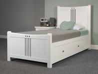 Sweet Dreams Louis Painted Wood Bed Frame