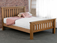 Sweet Dreams Marlon Solid Oak Bed Frame