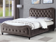 Sweet Dreams Mason Fabric Bed Frame