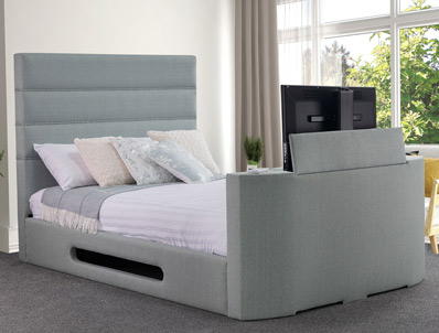 Sweet Dreams Mazarine Upholstered TV Bed Frame