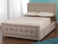 Sweet Dreams Passion Storage Fabric Bed Frame