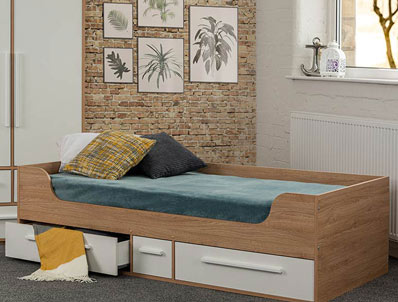 Sweet Dreams Pleasure Low Level Cabin Bed Frame