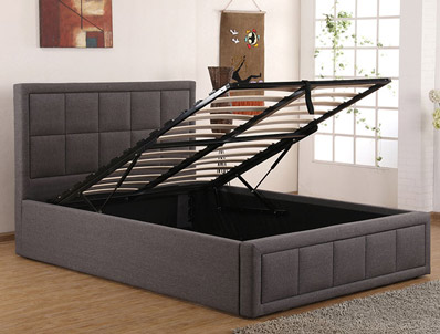 Sweet Dreams Shia Lift Up Fabric Bed Frame