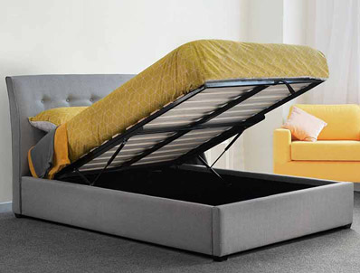Sweet Dreams Sporting Fabric Ottoman Bed Frame