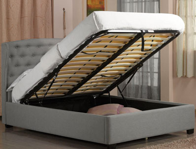 Sweet Dreams Tonto Winged Ottoman Bed Frame