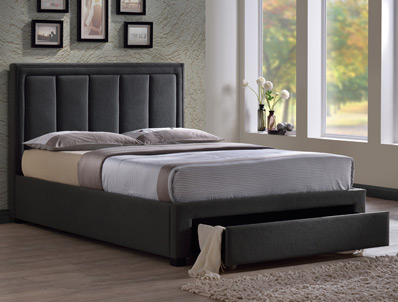 Time Living Atlanta Fabric Drawer Bed Frame Discontinued
