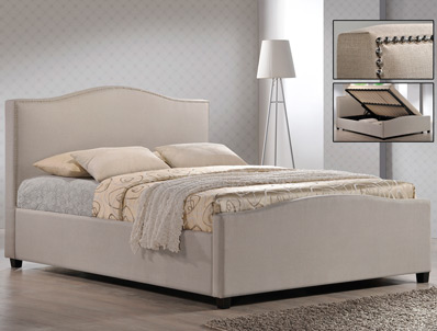 Time Living Brunswick Side Open Ottoman Bed Frame