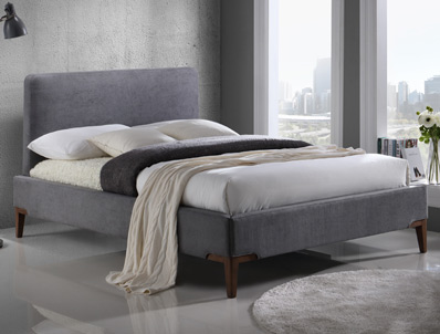 Time Living Durban Fabric Bed Frame