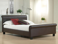 Time Living Fabric & Leather  Bed Frames