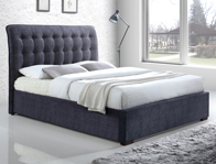 Time Living Hamilton Fabric Bed Frame