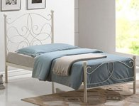 Time Living Melissa Ivory Bed Frame