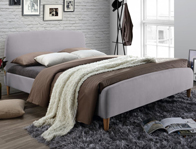 Time Living Opalia fabric Bed Frame