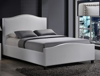 Time Living Tuxford Faux Leather Bed Frame