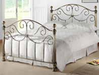 Time Living Victoria Brass Effect Bed Frame Discontinued