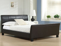 Time Living Winchester Faux Leather Bed Frame