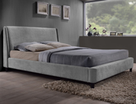 TL Avant Garde Edburgh Grey Fabric Bed Frame
