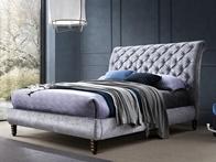 TL Avant Garde Venice Velvet Fabric Bed Frame