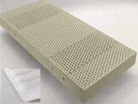Velda Crystal 21cm Deep 100% Latex Mattress