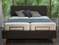 Velda Suffolk  Upholstered Fabric Adjustable Bed Frame